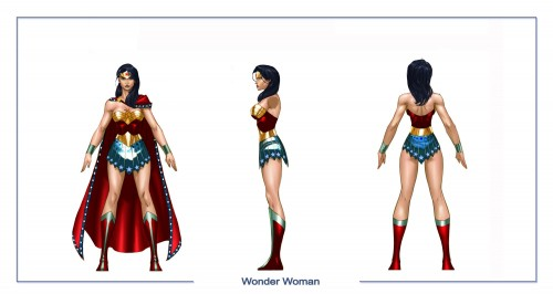 wonder woman character sheet