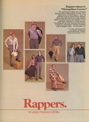 3987626354 732113ea07 o 363x500 Rappers and the Gay Nineties Humor Advertisements