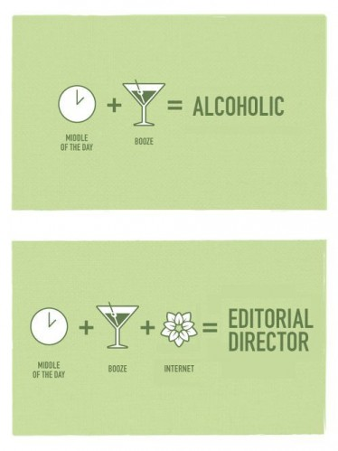 alcoholic or editor