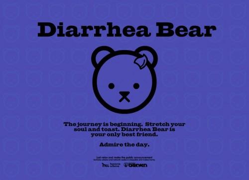 diarrhea bear