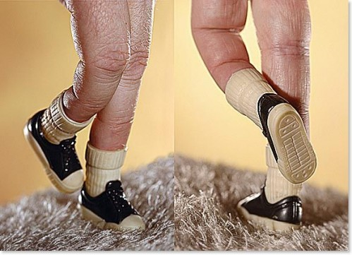 finger feet