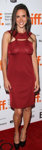 jennifer connelly see through red dress 140x500 jennifer connelly   see through red dress Sexy not exactly safe for work jennifer connelly