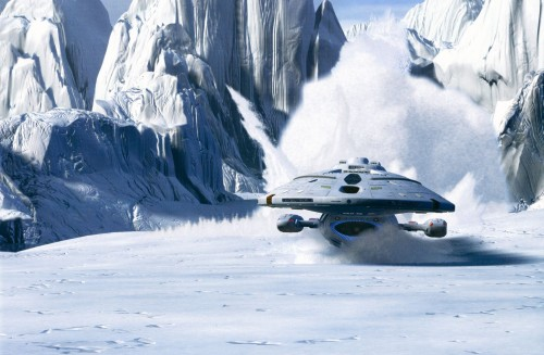voyager's icey landing