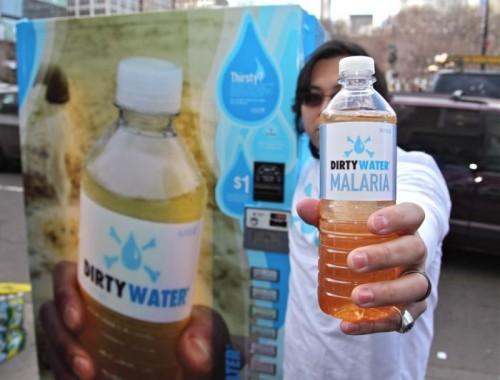 dirty water - malaria