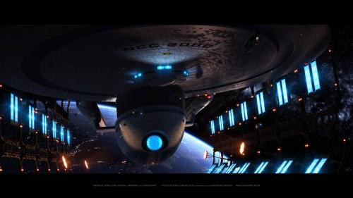 excelsior in dry dock