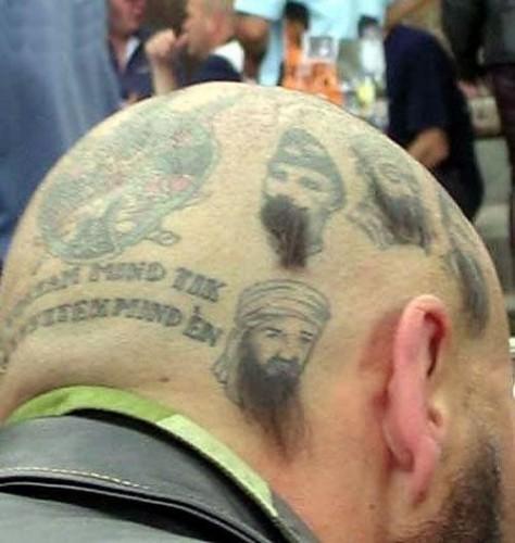 humorous skull tattoos