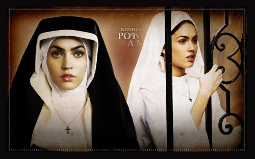 megan fox is a nun