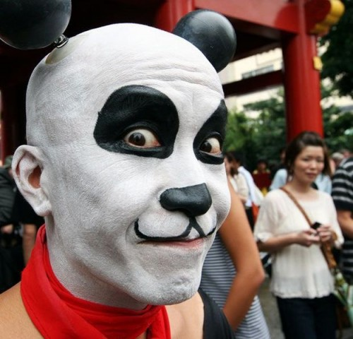 mickey mouse face paint 500x480 mickey mouse face paint wtf cosplay