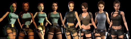 tomb raider through the ages