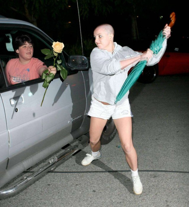 Britney Doesn't Want Your Flowers