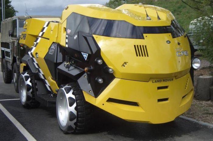 CAB Land Rover