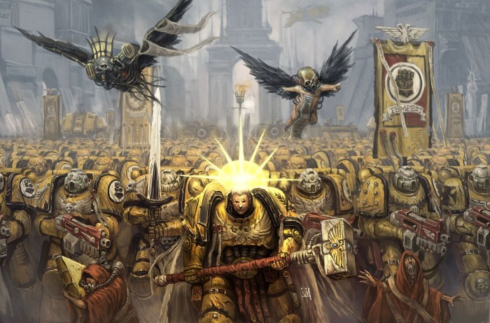 army of the emperor of man