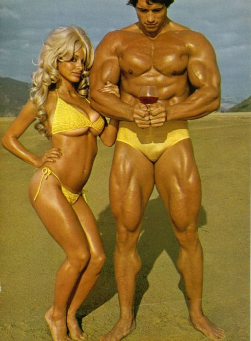 arnold with blonde