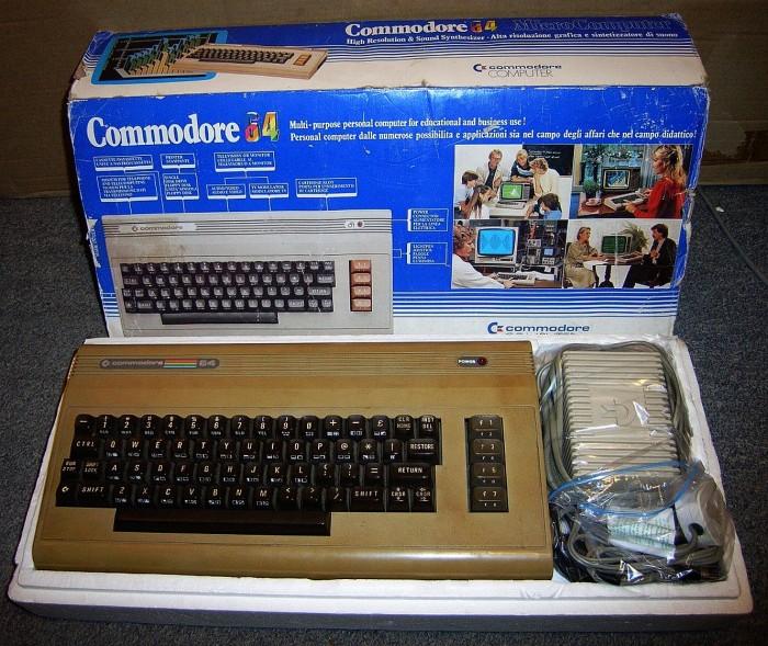 commodore 64 in box