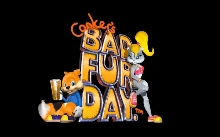 conkers bad fur day wallpaper 700x437 conkers bad fur day wallpaper Wallpaper Gaming