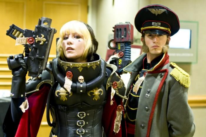 warhammer 40k cosplayers