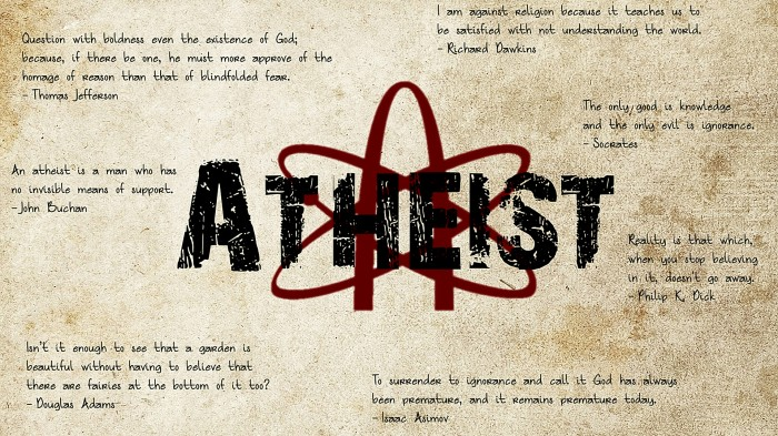 Athist Quotes