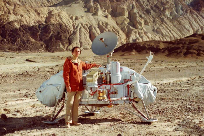 Carl Sagan and Mars Lander