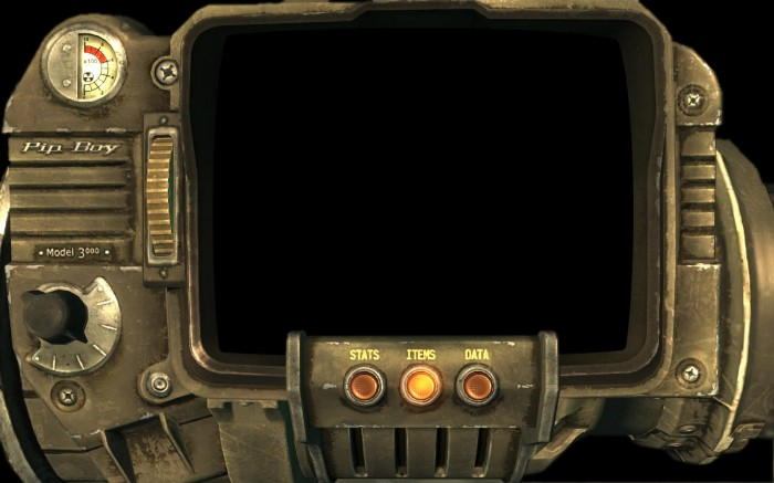 Pip-Boy Controller Wallpaper