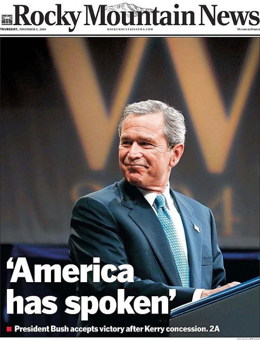 america has spoken