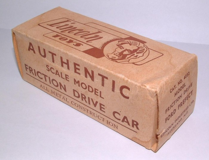 authentic scale model friction drive car