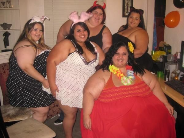 five fat females
