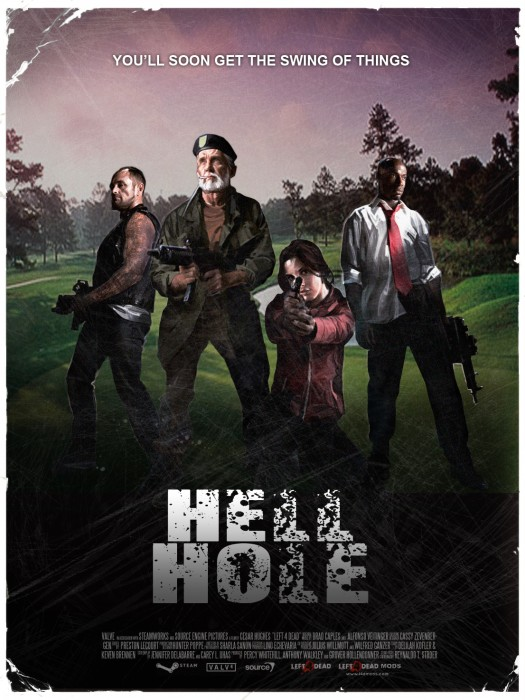 left 4 dead - hell hole