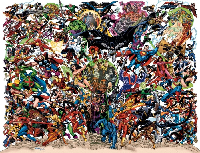 marvel and dc