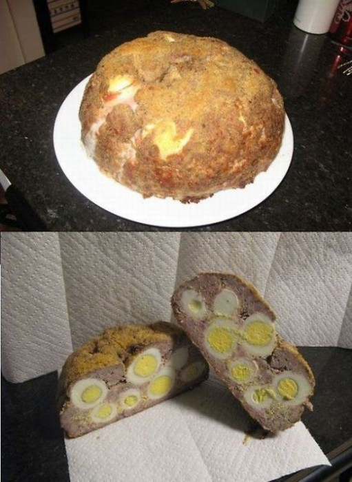 meat and egg loaf