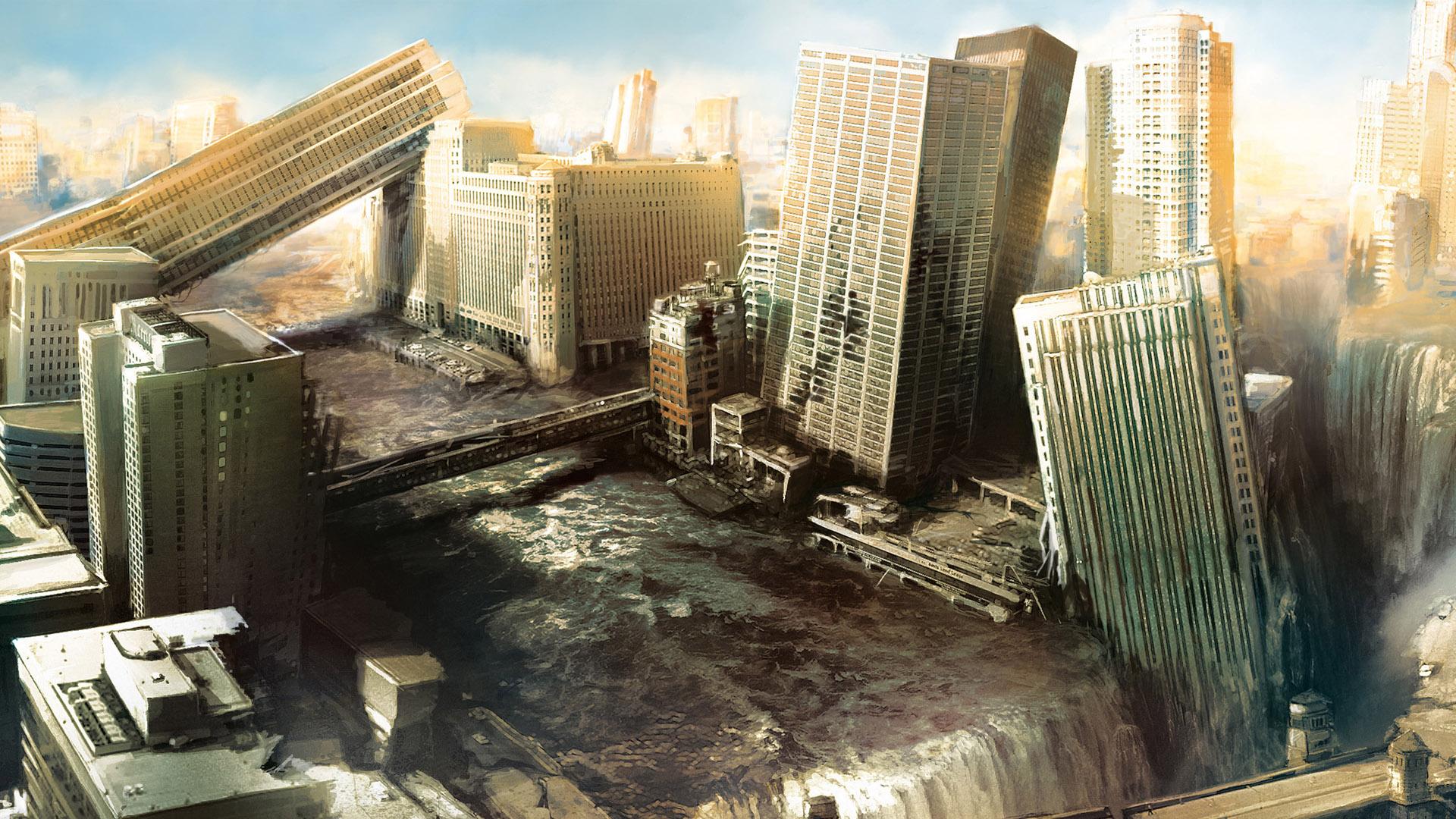 Post Apocalyptic City Myconfinedspace