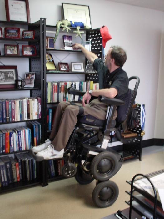 standing wheel chair