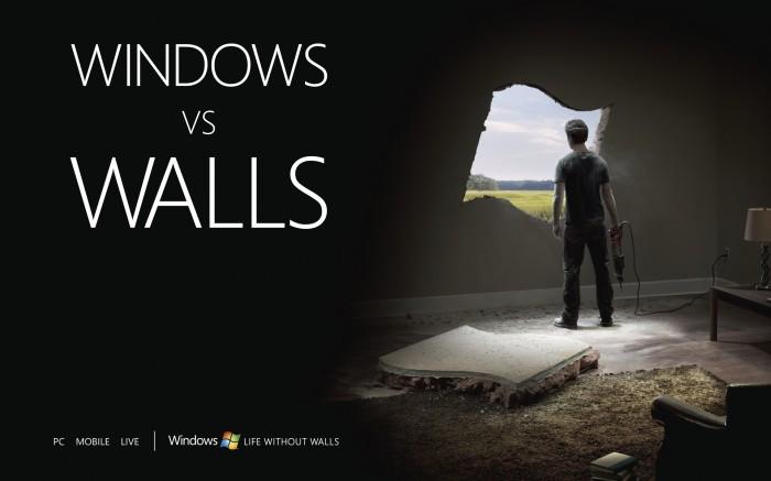 windows vs walls