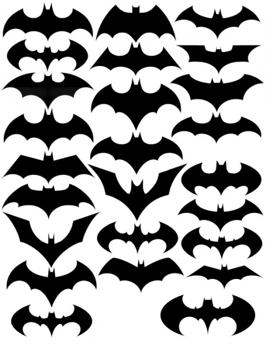 batman's batsymbols