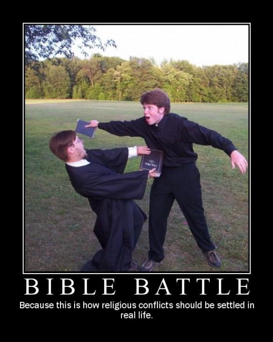 bible battle