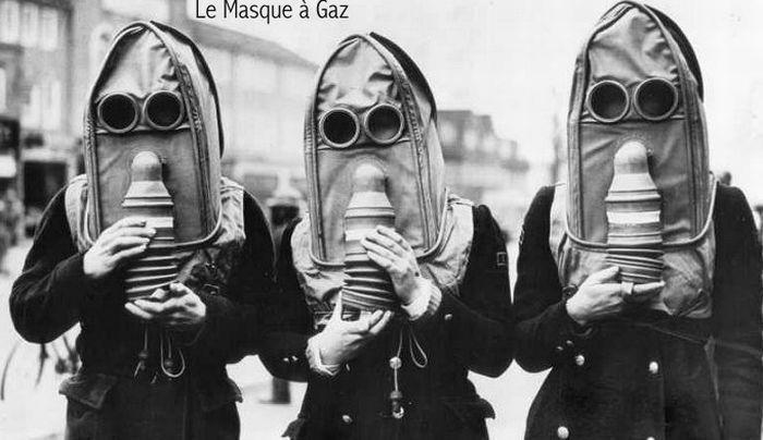 le masque a gaz – gas masks
