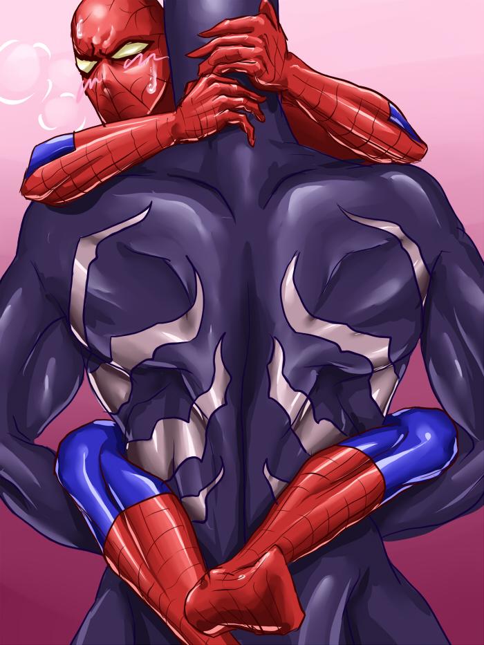 Видео секс гей человек паук