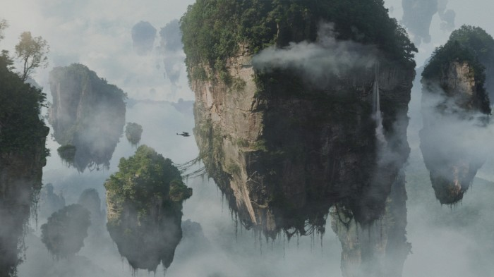 avatar - floating mountains wallpaer