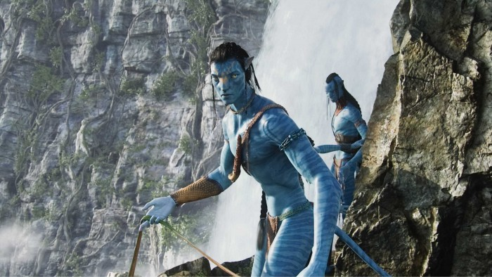 avatar - waterfall waterpaper