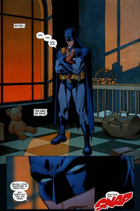 batman snaps babies