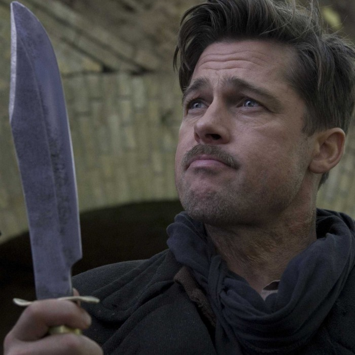 brad pitt from the inglorious basterds