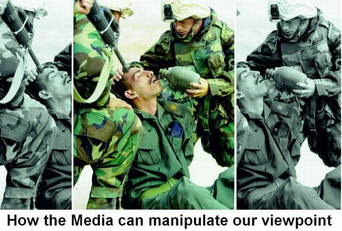 how the media can manipulate our viewpoint how the media can manipulate our viewpoint wtf Military Advertisements