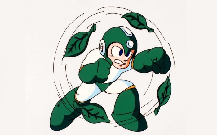 mega man is leaf man 700x437 mega man is leaf man Wallpaper mega man Gaming