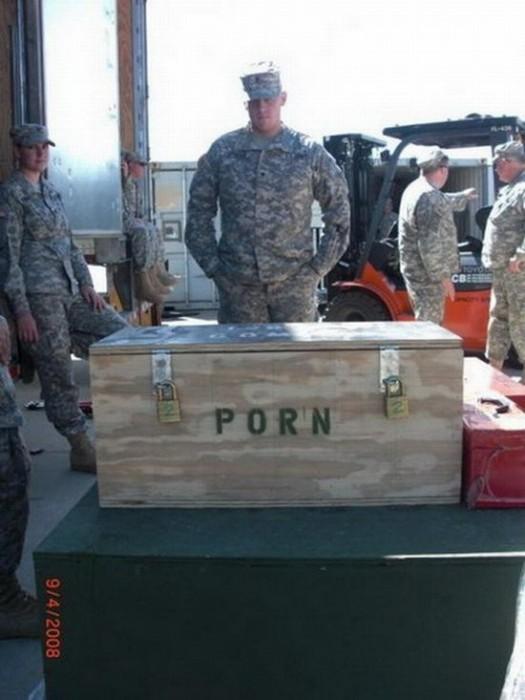 military porn box