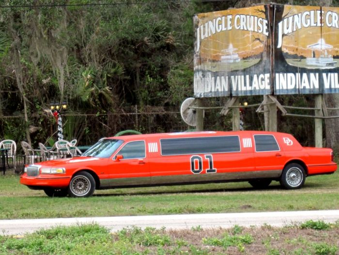 red neck limo