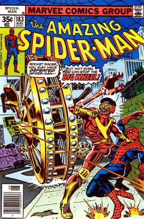 rocket racer and spider man 460x700 rocket racer and spider man wtf Humor Comic Books