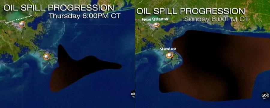 bzj89 Gulf of Mexico Oil Spill Projection wtf Sad :( Nature