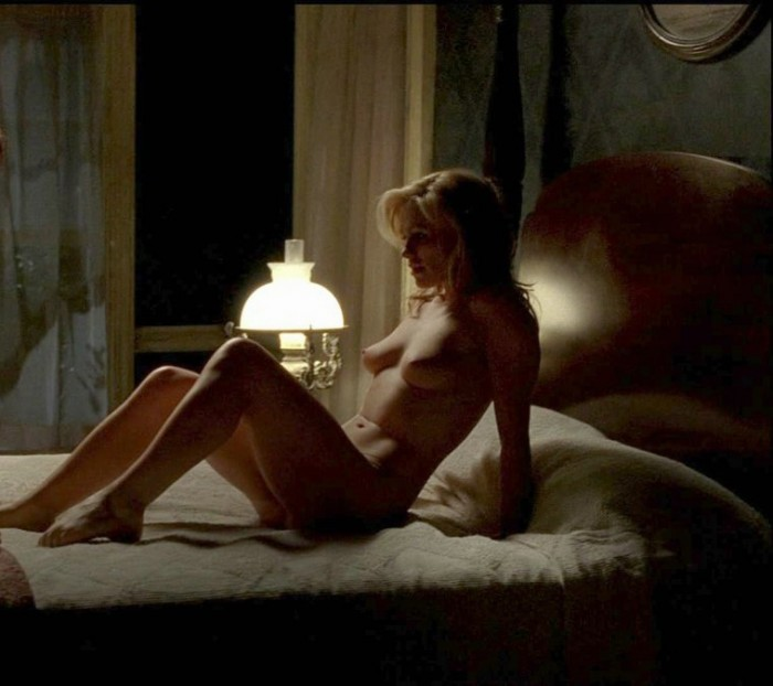Anna Paquin Nude On Bed 01
