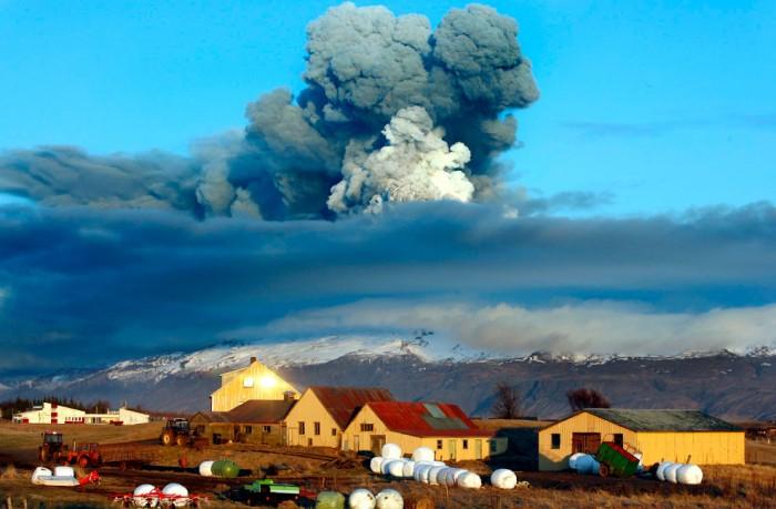 Scenic Eruption