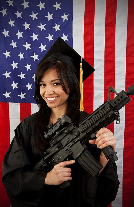assault weapon graduate