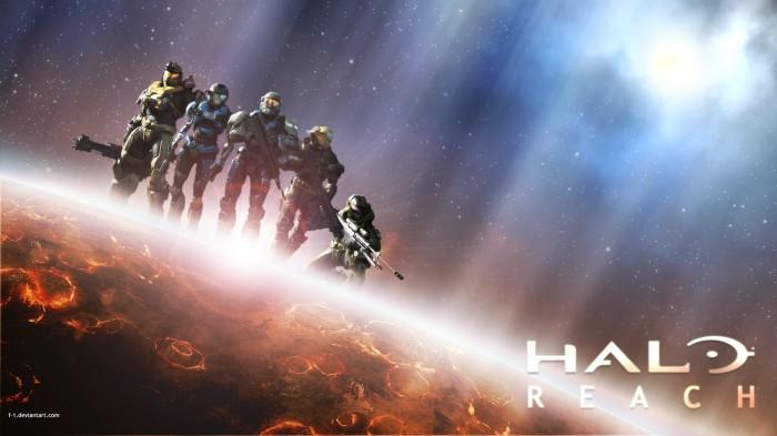 halo reach - planetary wallpaper